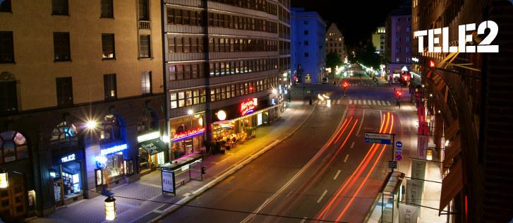 Международный Роуминг TELE2 Kungsgatan Stockholm