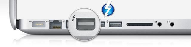 Интерфейс DisplayPort с поддержкой Thunderbolt