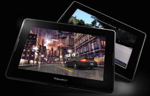 Открыт предзаказ на планшеты BlackBerry PlayBook
