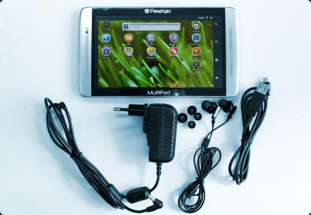 Prestigio MultiPad PMP7070C - комплектация