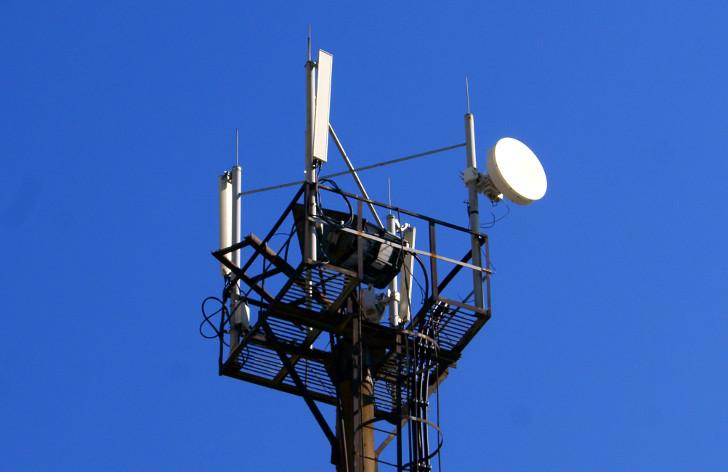 Антенны базовой станции TELE2 в Геленджике