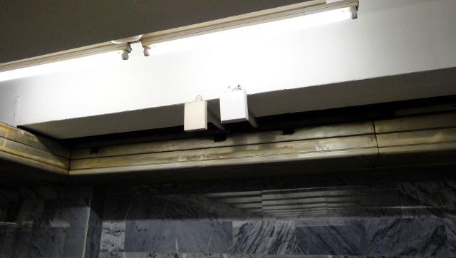 Антенны TELE2 на станции «Проспект Ветеранов»