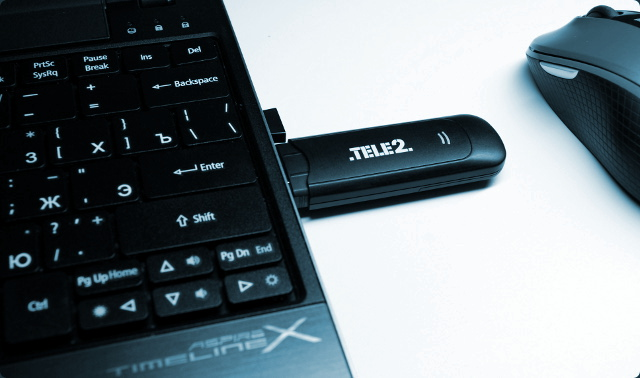 Обзор и тест-драйв USB-модема TELE2