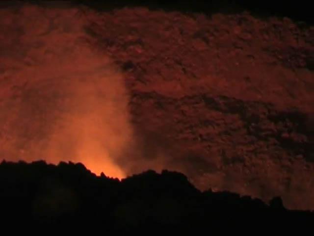 Фотографии очевидцев падения метеорита