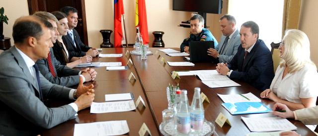 Президент Tele2 АВ встретился с Губернатором Воронежской области