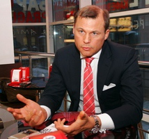 Президент Tele2 Россия Дмитрий Страшнов